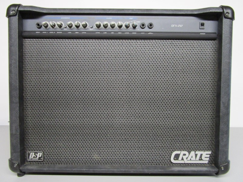 CRATE GFX-212 COMBO GUITAR AMP WITH ON-BOARD DSP