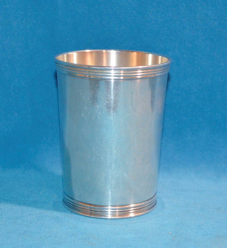4 MINT JULEP CUPS STERLING SILVER 3759 BY MANCHESTER SILVER