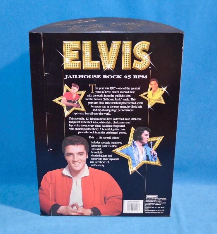 HASBRO Elvis Doll 9146 Jailhouse Rock 45 RPM