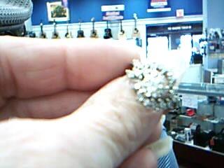Lady's Diamond Wedding Set 21 Diamonds .84 Carat T.W. 14K White Gold 5.31g