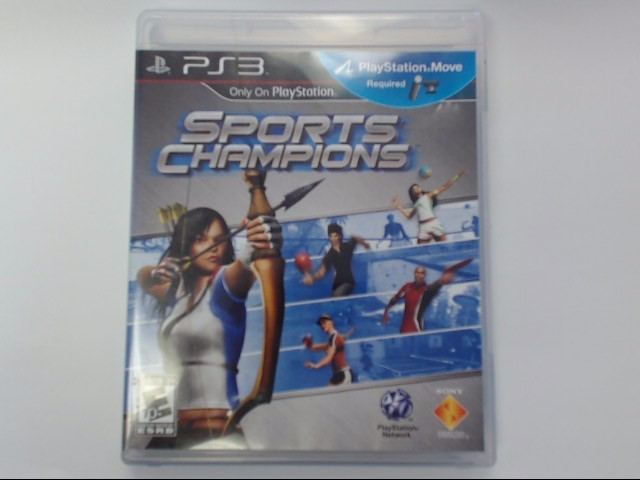Sony PlayStation 3 Game SPORTS CHAMPIONS