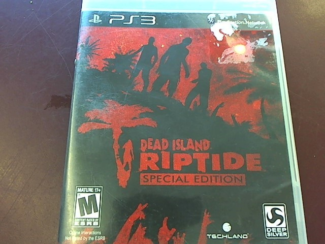 SONY PS3 DEAD ISLAND RIPTIDE SPECIAL EDITION