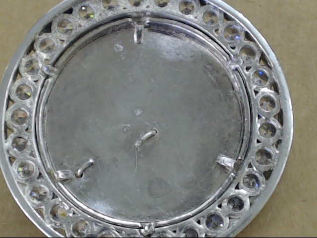 HUGE SNAKE COBRA CZ PENDANT SOLID STERLING SILVER HEAVY 56g ICE PUNK