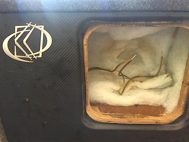 Car Speakers/Speaker System EMPTY 10IN SUB BOX