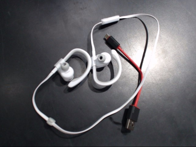 BEATS AUDIO Headphones POWERBEATS 2 WIRELESS - (WHITE)