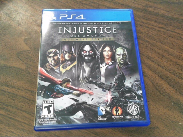 SONY Sony PlayStation 4 Game INJUSTICE - GODS AMONG US ULTIMATE EDITION