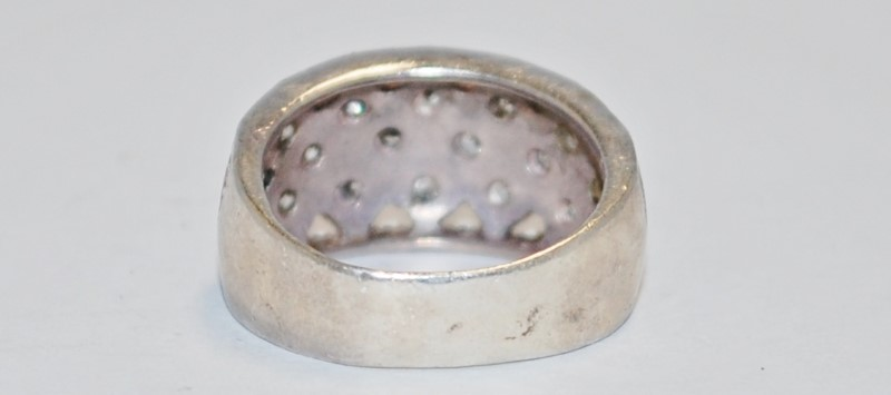Lady's Silver Ring 925 Silver 6.3g