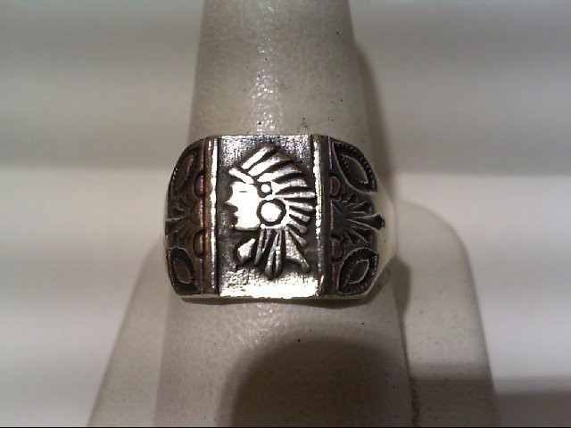 Gent's Silver Ring 925 Silver 6.1g
