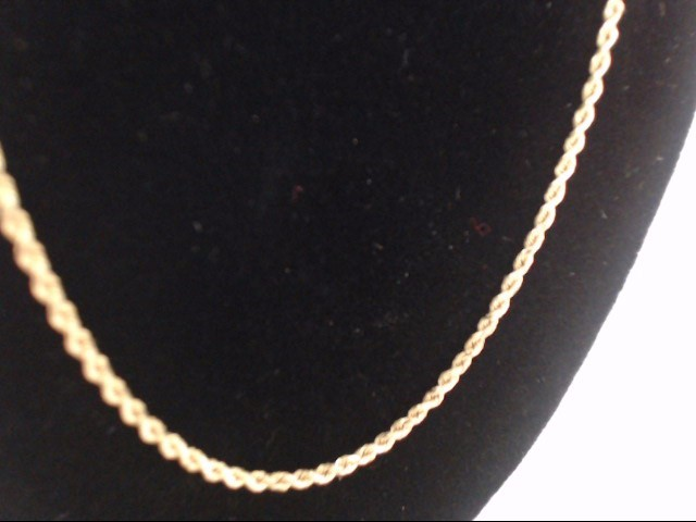 Gold Chain 14K Yellow Gold 3.5g