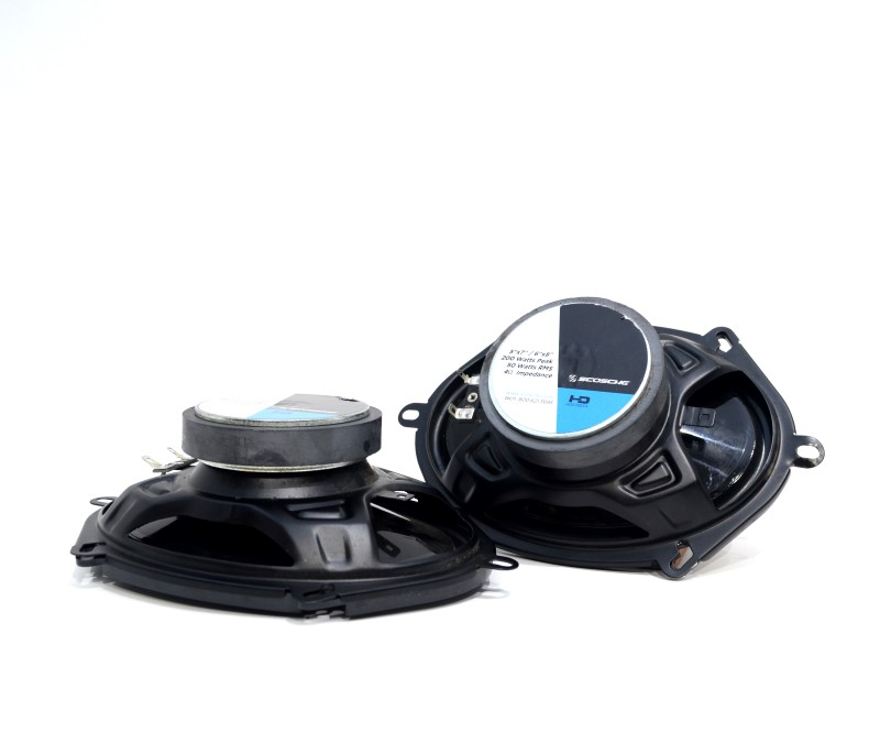 "Scosche HD57683A Pair of 2 5x7"" 6x8"" Car Speakers 200W Peak 50W RMS>"