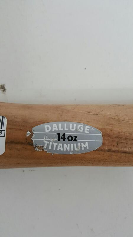 Dalluge Titanium 14oz Hammer