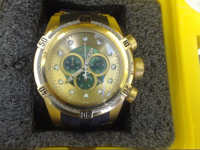 Invicta Men's 'Bolt' Swiss Quartz Stainless Steel Casual Watch 19729
