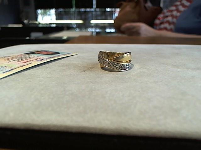 Lady's Diamond Fashion Ring 50 Diamonds .250 Carat T.W. 14K Yellow Gold 7g