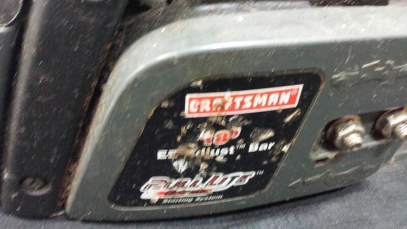 Craftsman 358.350380 Chainsaw