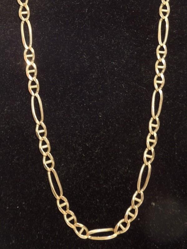 Gold Chain 14K Yellow Gold 12.3g