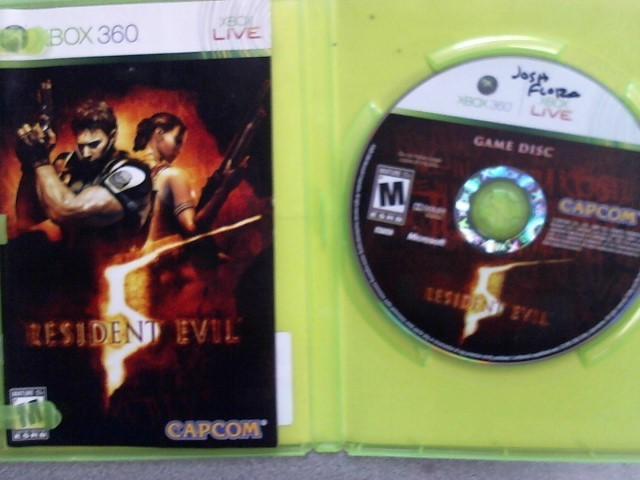 MICROSOFT Microsoft XBOX 360 Game RESIDENT EVIL 5