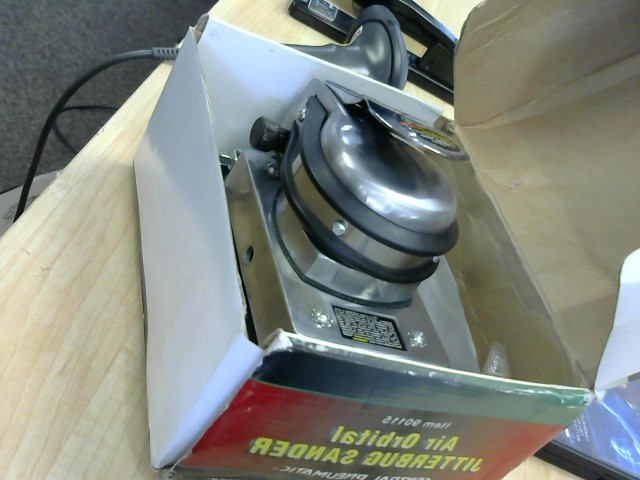 "CENTRAL PNEUMATIC Air Grinder 5"" HIGH SPEED AIR SANDER"