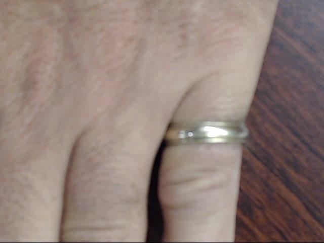 VINTAGE BEAD EDGE WEDDING RING BAND SOLID REAL 14K GOLD MEN SZ 8.75