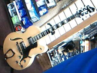 HAGSTROM Jazz HJ500 Hollow Body with Hagstrom Hard case