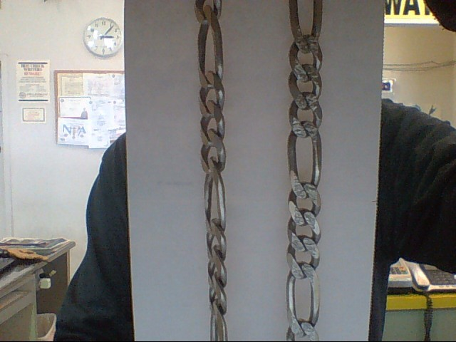 """22"""" Silver Link Chain 925 Silver 59.8g"""