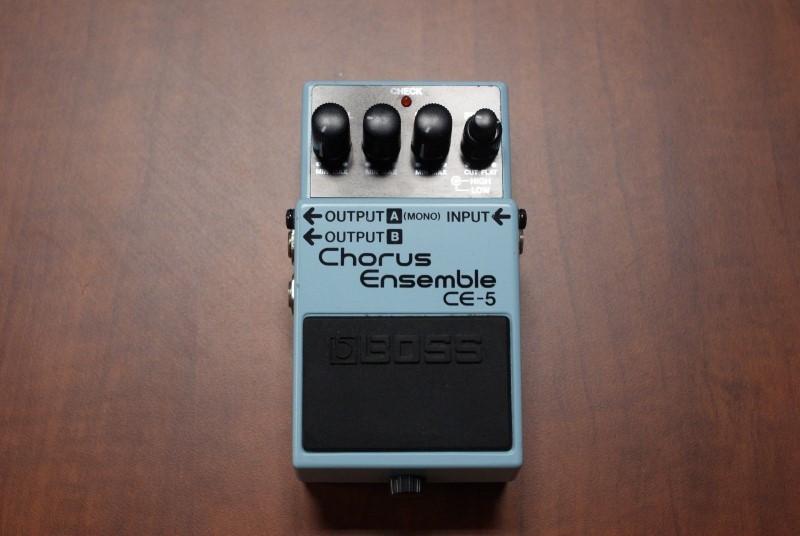 BOSS Effect Equipment CHORUS CE-5