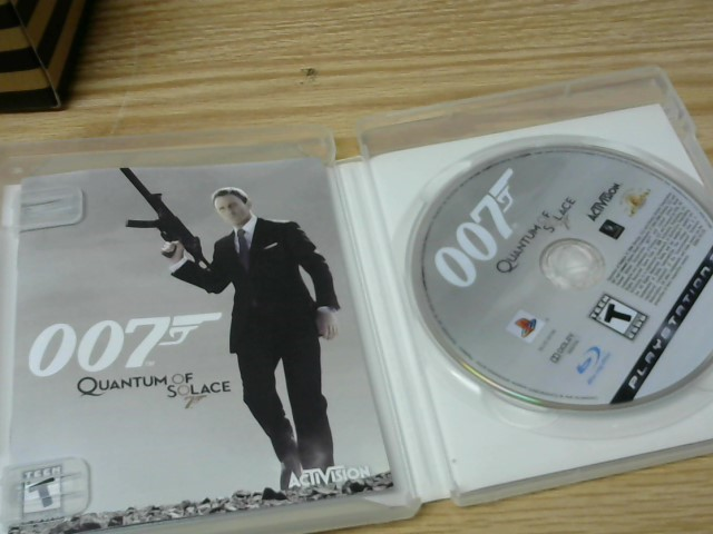 SONY Sony PlayStation 3 Game 007 QUANTUM OF SOLACE