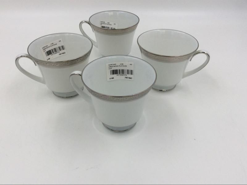 Noritake Crestwood Platinum 10PC Plate Setting w Box