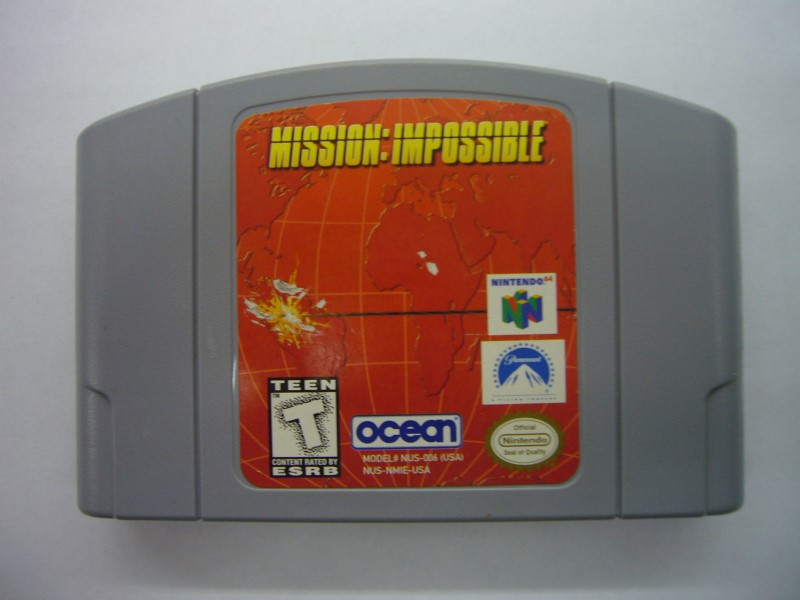 NINTENDO 64 Game MISSION IMPOSSIBLE 64 *CARTRIDGE ONLY*