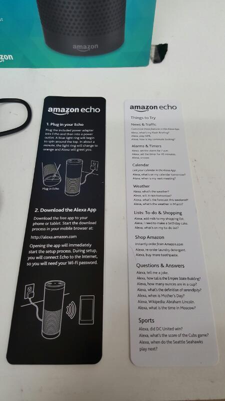 Amazon Echo Alexa Personal Assistant Audio Streamer