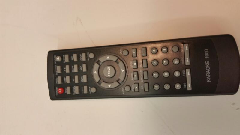 Intertek Karaoke 1000 DVD Player With Remote