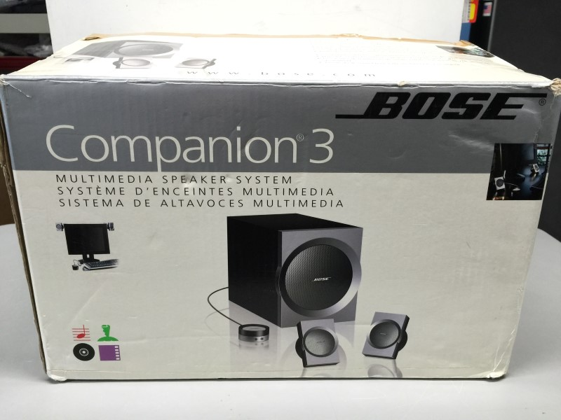 bose companion 2 speakers manual