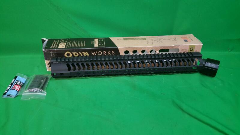 "ODIN WORKS Firearm Parts 308 AR-10 KEYMOD FOREND 15.5"" HIGH PROFILE 2.06"""