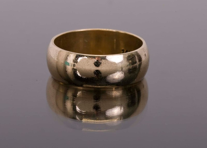Lady's Gold Ring 14K Yellow Gold 6.8g Size:6.5
