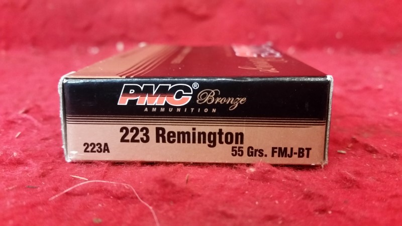 PMC 223 Remington 55gr FMJ-BT