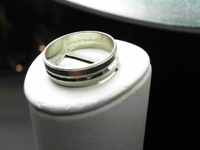 Gent's Gold Ring 14K White Gold 4g Size:9.3