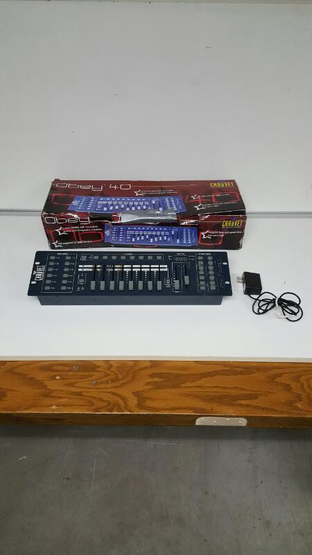 AS IS - Chauvet Obey 40 DMX Controller
