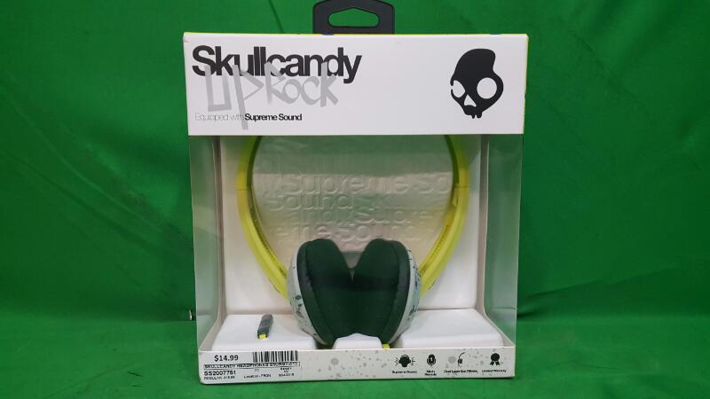SKULLCANDY Headphones UPROCK Up Rock S5URGY-415