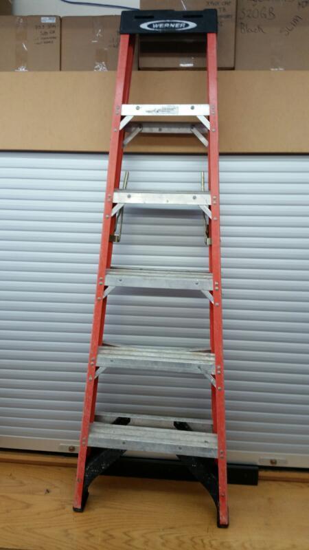 Werner Model: MK-6 FibberGlass  Ladder