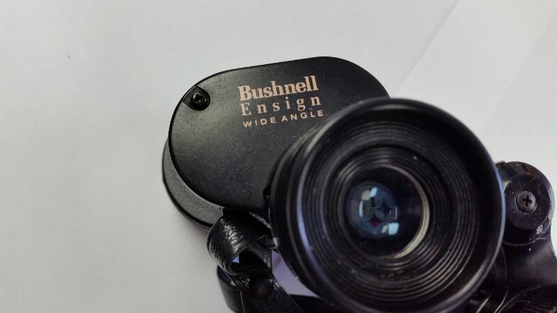 BUSHNELL ENSIGN WIDE ANGLE BINOCULARS 7X35 550FT AT 1000 YARDS