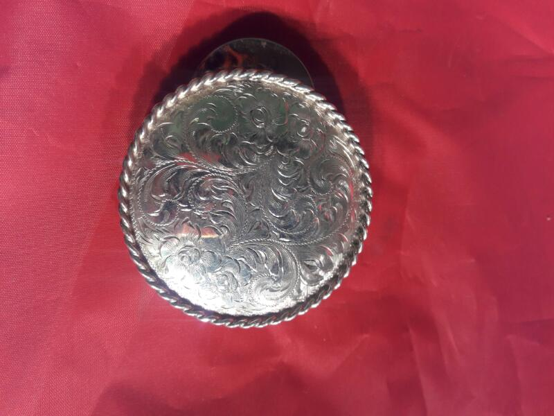 46.8DWT STERLING BUCKLE