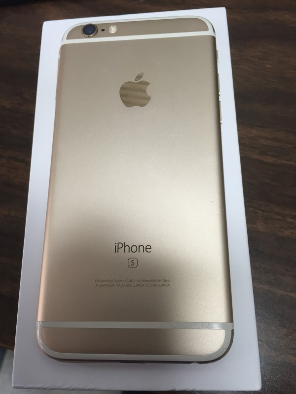 APPLE IPHONE 6S MKQ72LL/A AT&T 16GB.