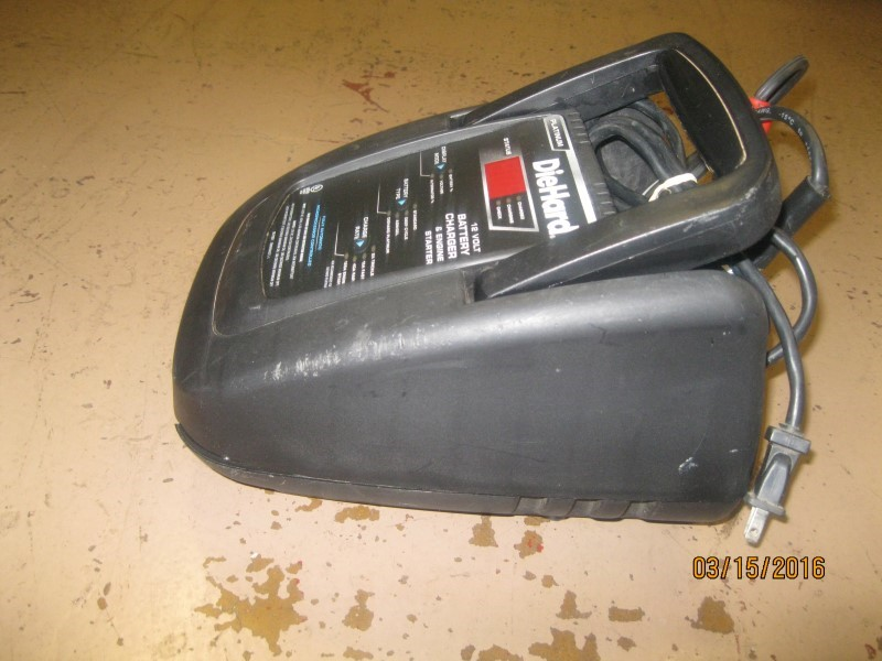 DIEHARD Battery/Charger PLATINUM PORTABLE POWER 1150