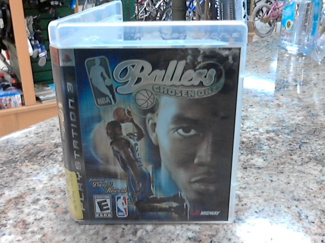 SONY Sony PlayStation 3 Game NBA BALLERS THE CHOSEN ONE
