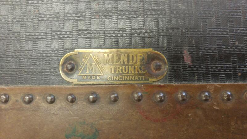 MENDEL Trunk/Chest STEAMER TRUNK STEAMER TRUNK