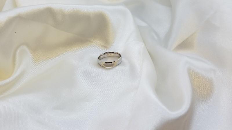 Gent's Gold Ring 14K White Gold 4.7g Size:9