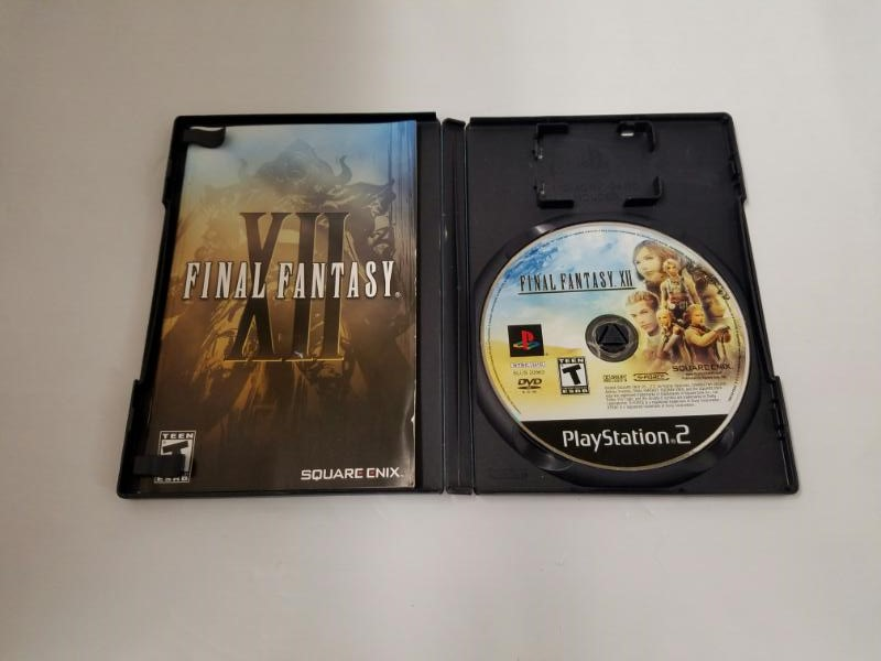 Sony PlayStation 2 Game FINAL FANTASY XII PS2
