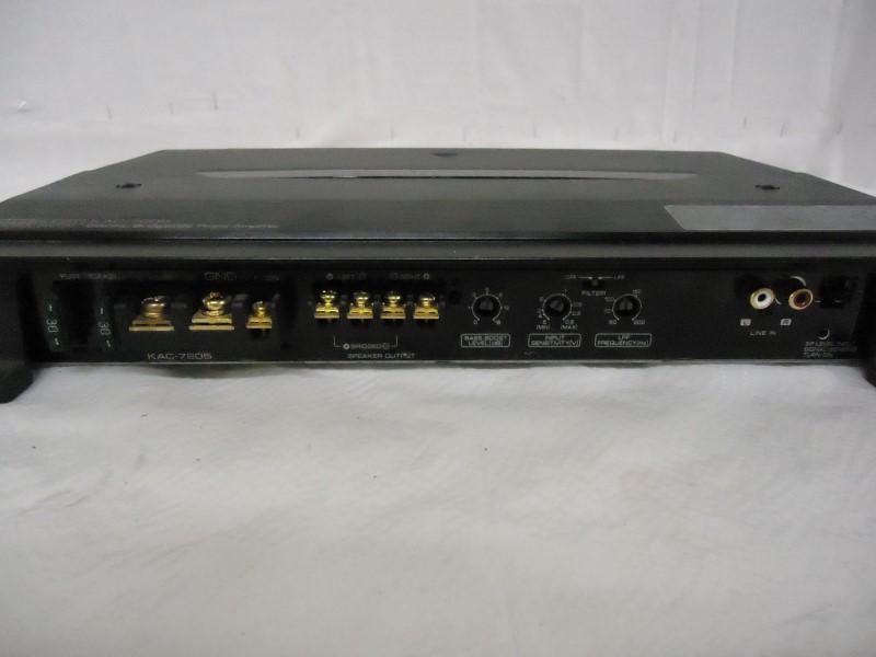 KENWOOD Car Amplifier KAC-7205
