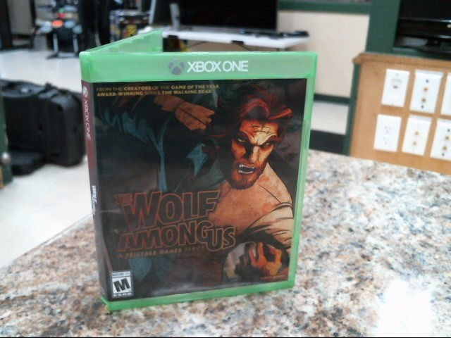 MICROSOFT Microsoft XBOX One Game THE WOLF AMONG US