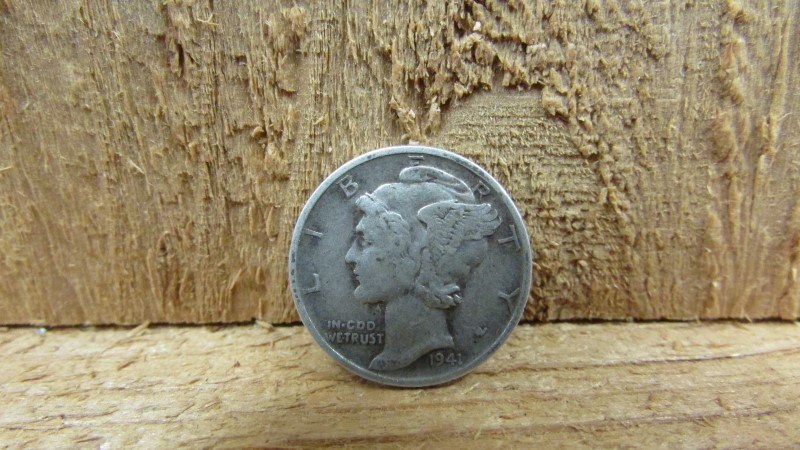 UNITED STATES Silver Coin 1941 MERCURY