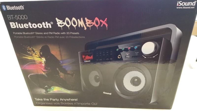 Isound Bluetooth Boombox